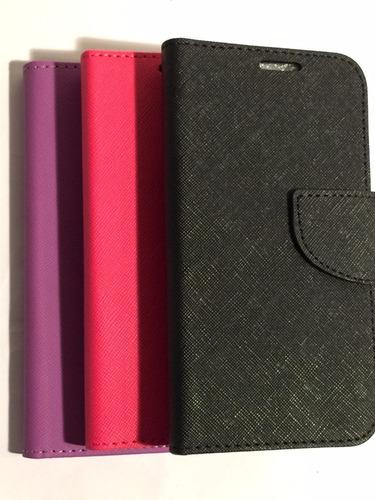 carcasa protector celular samsung s6 edge flip libro agenda