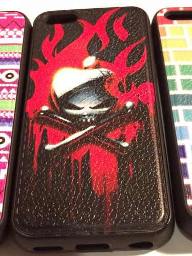 carcasa protector iphone 5c silicona goma colores
