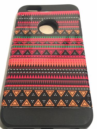 carcasa protector iphone 6 plus silicona goma colores