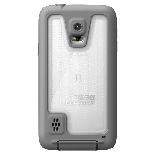 carcasa protectora lifeproof fre para galaxy s5, blanco/gris