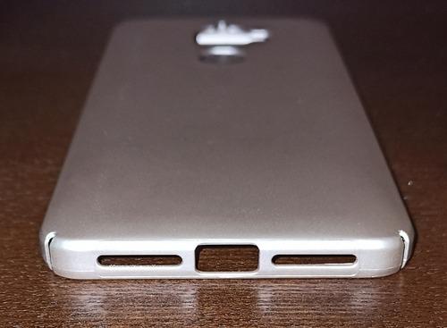 carcasa protectora para celular le eco x520, color gold rose