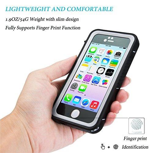 carcasa protectora spidercase impermeable p/iphone 5/5s/se