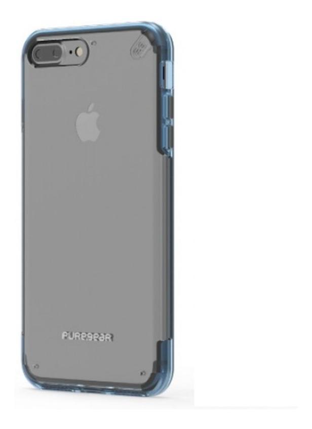 259484393e2 Carcasa Puregear Slim Shell Pro iPhone 7 Plus (clear / Blue ...
