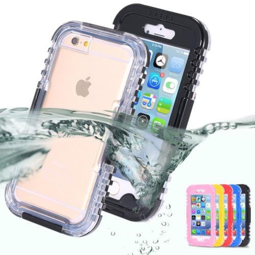 carcasa resistente al agua para iphone 6s /6 plus