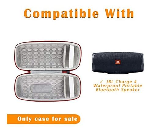 carcasa rígida compatible con altavoz portátil jbl charge 4