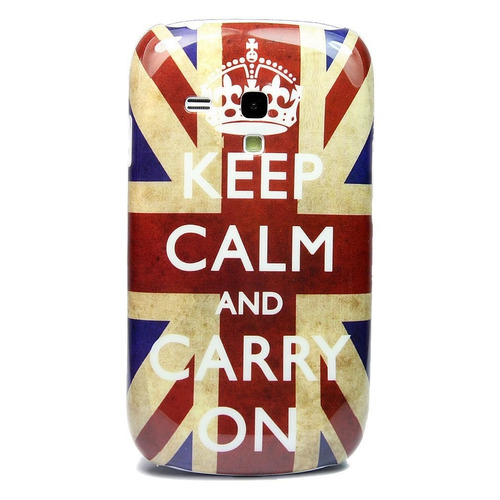 carcasa rigida samsung galaxy s4 keep and calm inglesa