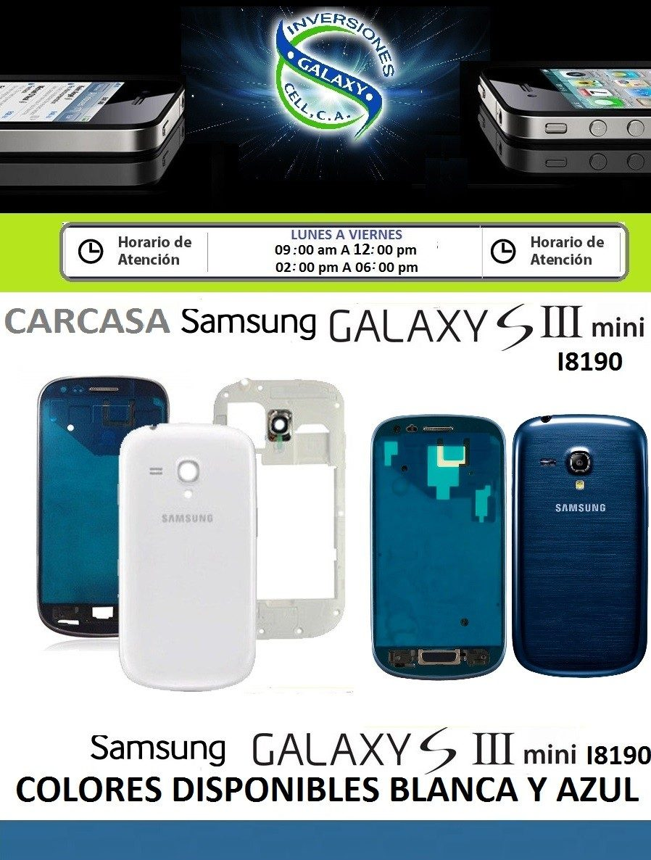 carcasa samsung galaxy s3 mini blanca