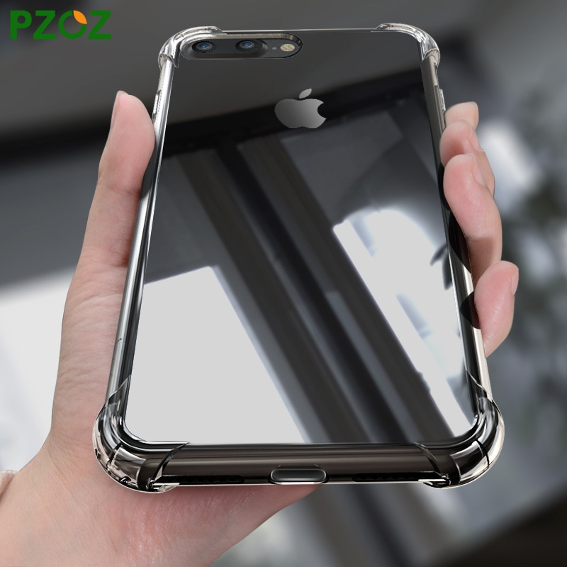 e17b2c8cd2f carcasa silicona iphone 7 con airbag antichoque transparente. Cargando zoom.