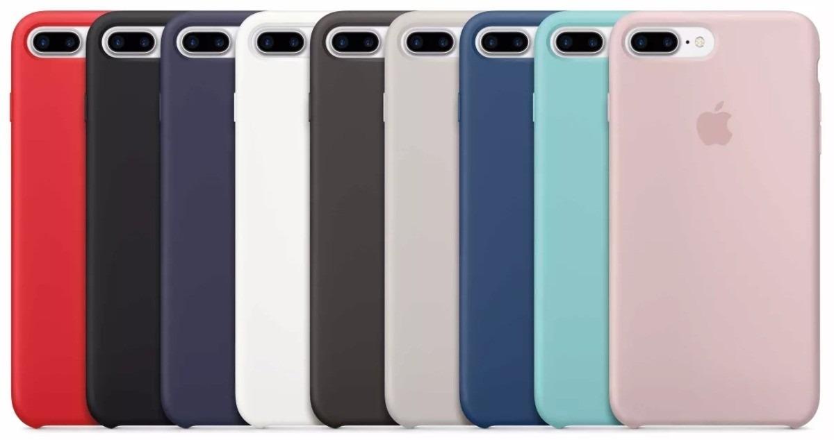 carcasa silicona iphone 7 original
