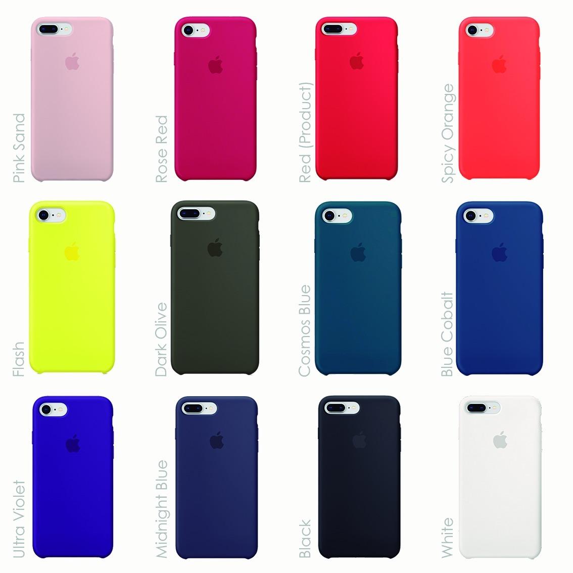 Mansedumbre Incidente, evento Tendero  Carcasa Silicona Original Apple iPhone 7 Y 8, Mabu Store - $ 24.990 en  Mercado Libre