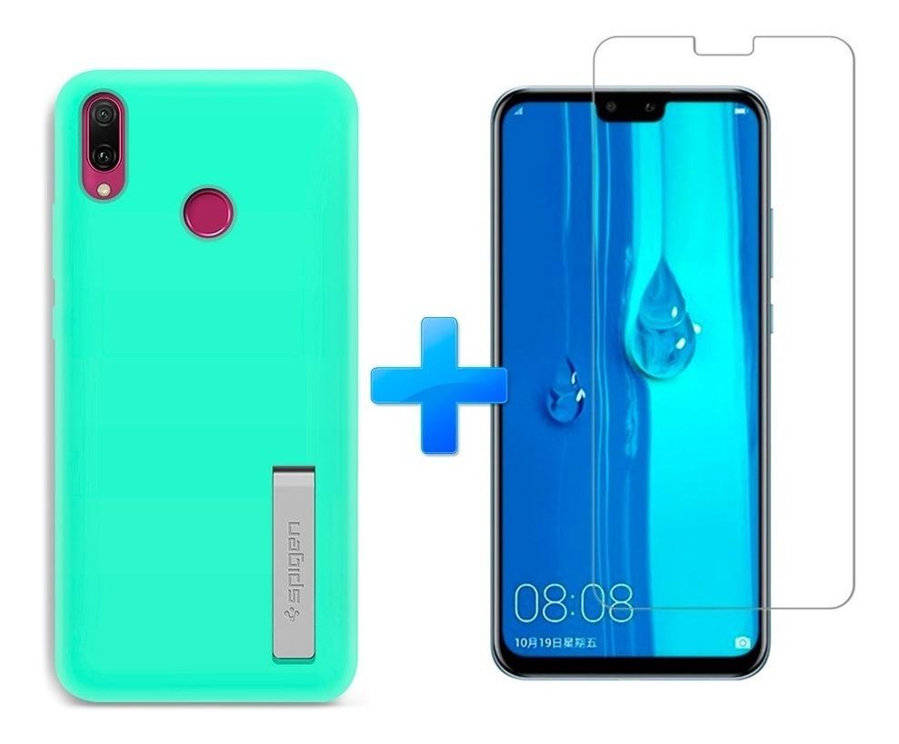 Carcasa Silicona Brillo Huawei Y9 2019 Fucsia Carcasas Chile