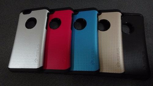 carcasa slim armor verus oem iphone 6s + lamina vidrio 0.33