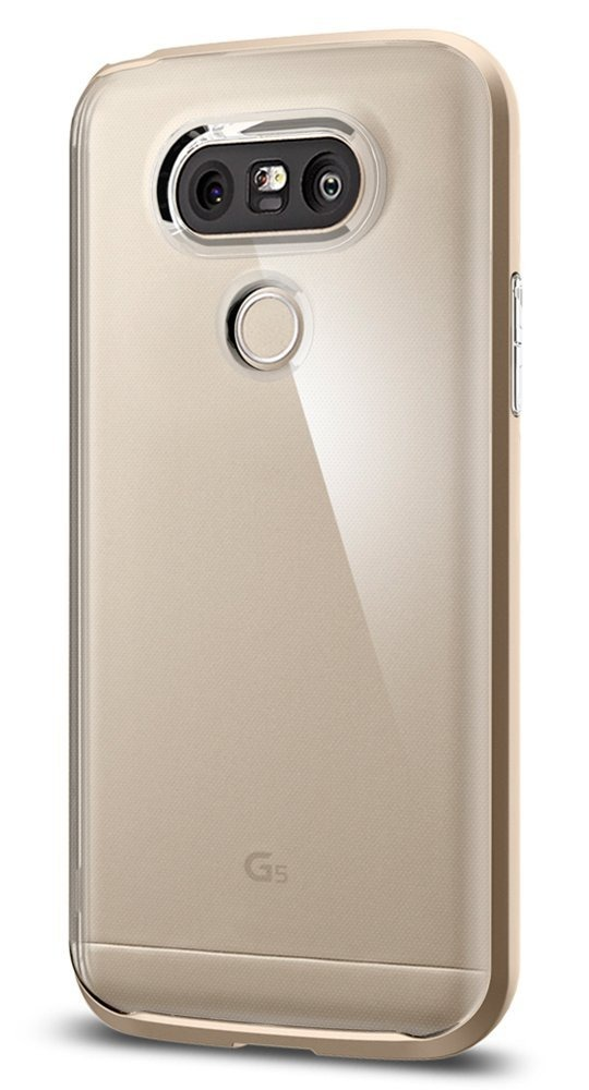 pretty nice 1c3f2 1d28f Carcasa Spigen Neo Hybrid Crystal Lg G5 Case With Flexible I