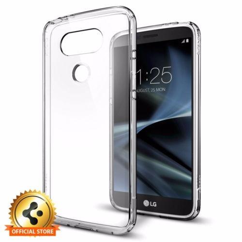carcasa spigen® policarbonato transparente lg g5