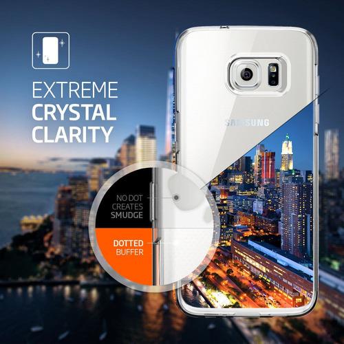 carcasa spigen® samsung galaxy s7 / s7 edge cristal liquido