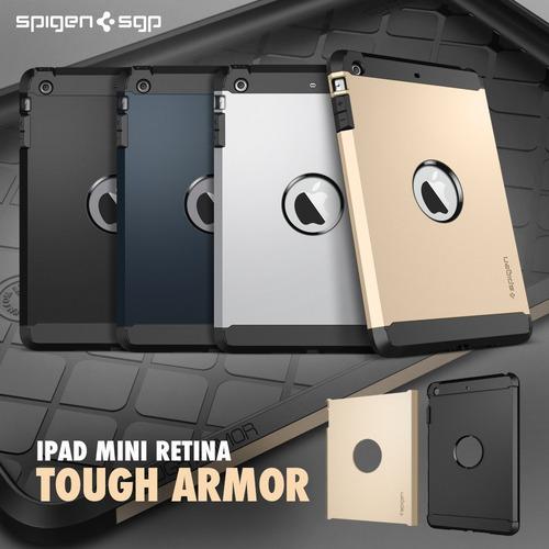 carcasa spigen sgp tough armor ipad mini 1 y 2 - ipad air 5