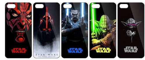 carcasa star wars - case starwars (7, iphone 5 )