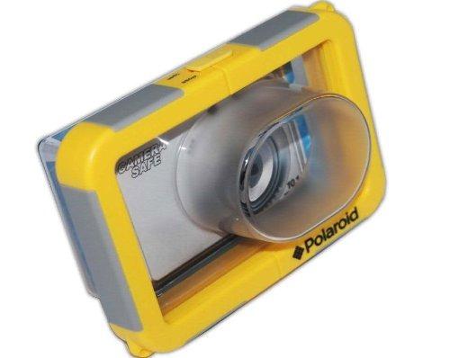 carcasa submarina polaroid para apuntar y disparar con lente