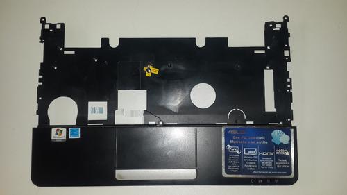 carcasa superior con pad y cable plano asus r051bx