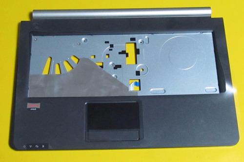 carcasa tapa base con touch pad notebook qbex vb40ri9