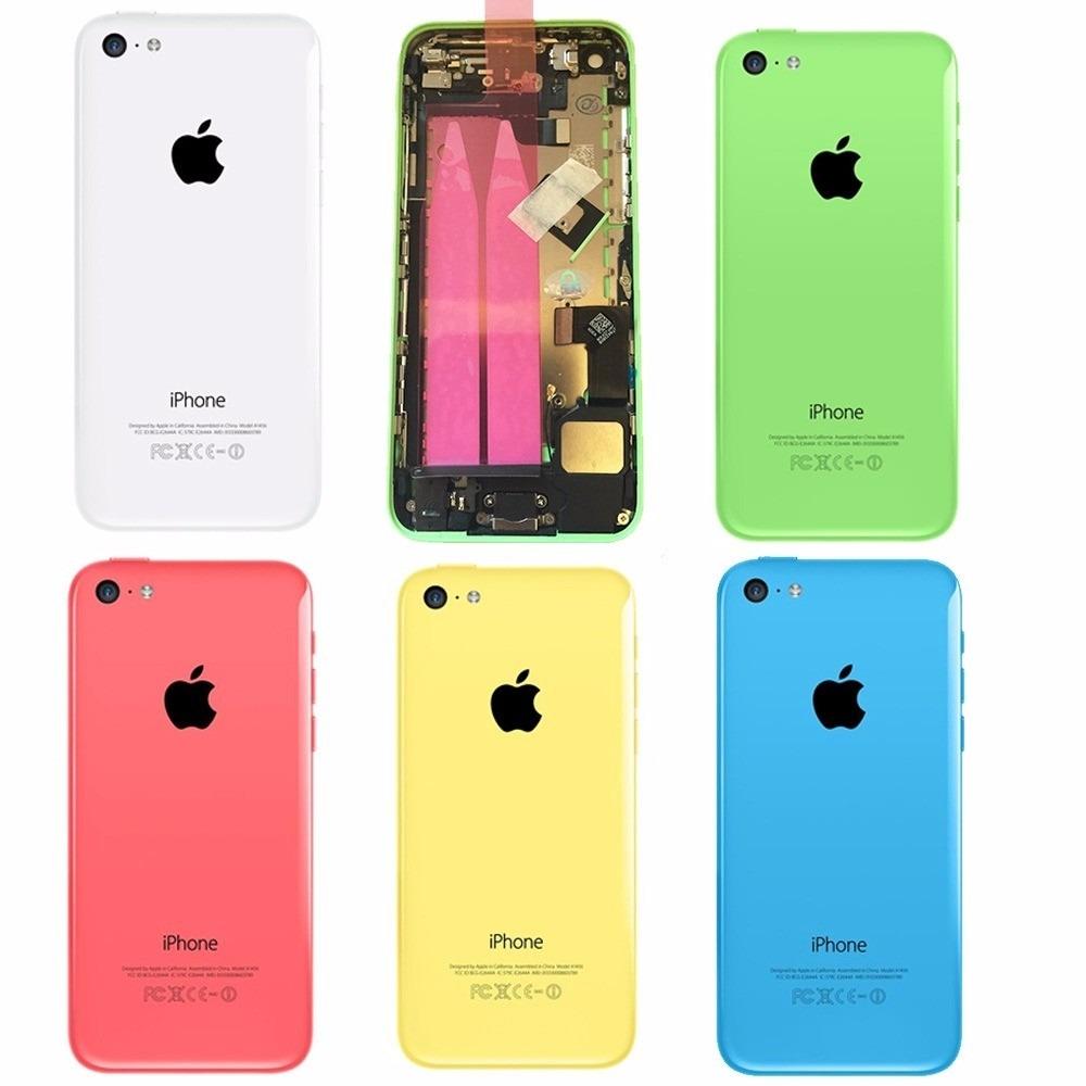6dccfc970bc Carcasa Tapa Bateria iPhone 5 5c Colores Original - $ 799,99 en ...