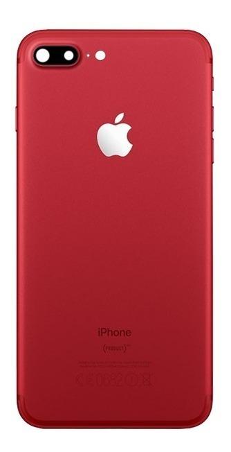a872291d07c Carcasa Tapa Chasis Apple iPhone 7 Plus Roja - $ 399.00 en Mercado Libre