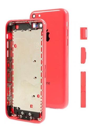 carcasa tapa iphone 5c botones porta sim envio gratis msi