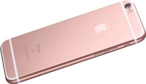 carcasa tapa trasera del iphone 6s gold rose para iphone 6