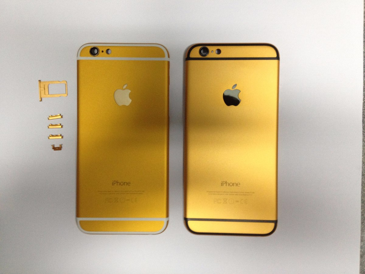 Iphone  Blanco Oro