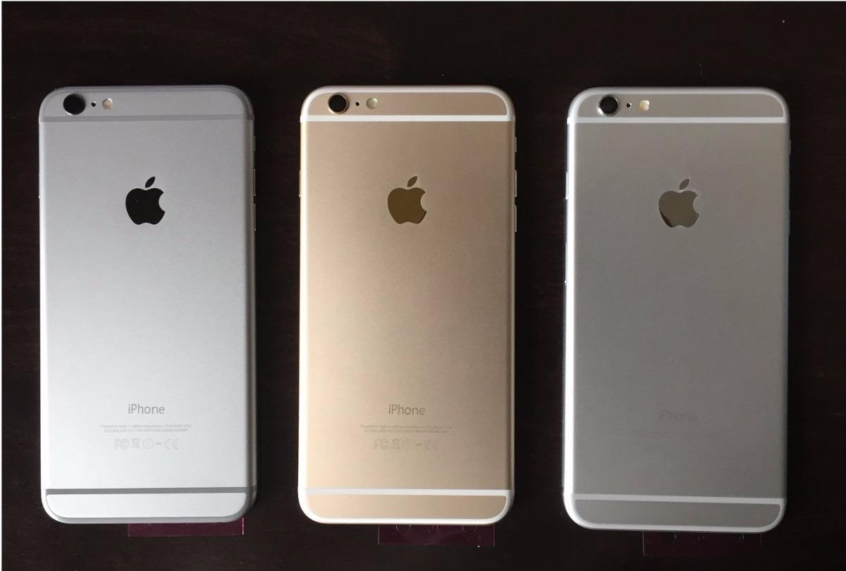 f8b8d7ee95a Carcasa Tapa Trasera iPhone 6 Plus Original - $ 900,00 en Mercado Libre
