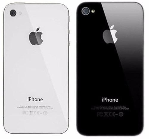 fbf84ec2234 Carcasa Tapa Trasera Original iPhone 4 - 4s Blanco Y Negro - Bs. 18.000,00  en Mercado Libre