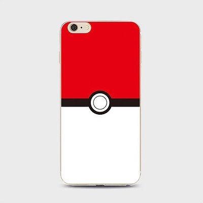 carcasa + templado iphone 5 5s se 6 6 plus pokemon