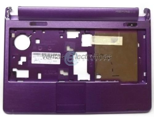 carcasa touchpad nueva para acer one kav60 morado ipp5