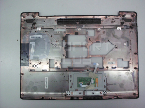 carcasa touchpad toshiba satellite a215-sp5810 a215 series a