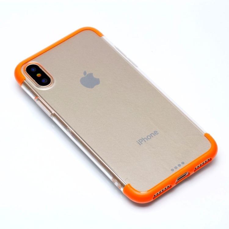carcasa iphone x naranja