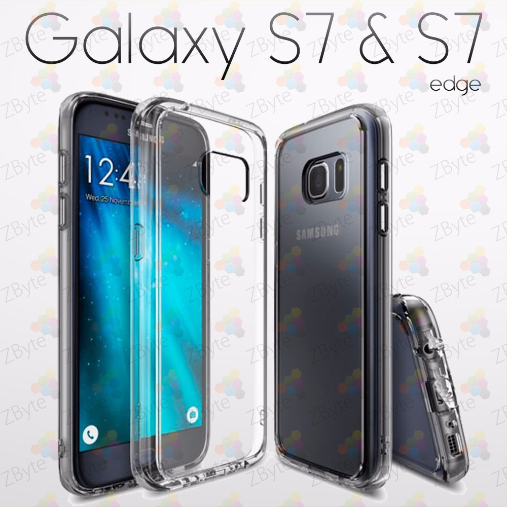 carcasa transparente galaxy s7 edge