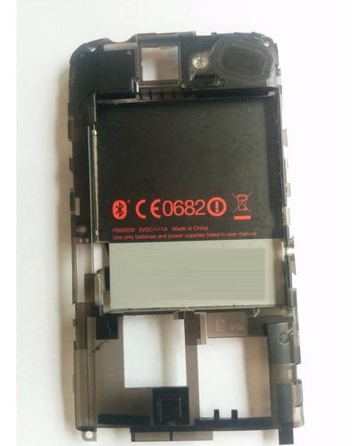 carcasa trasera + corneta + cable de antena htc desire