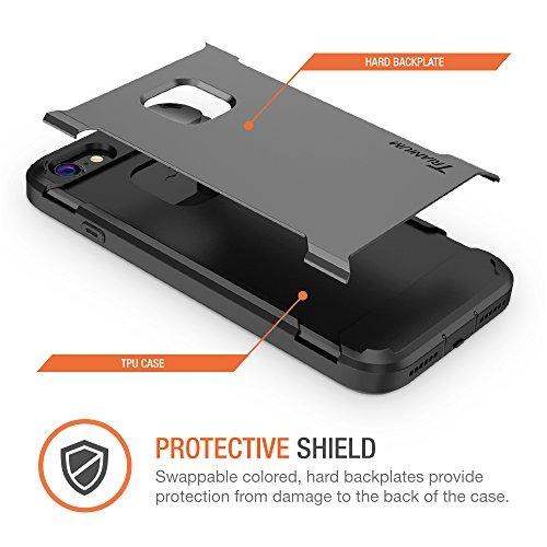 carcasa trianium [duranium] c/protector pantalla p/iphone 7