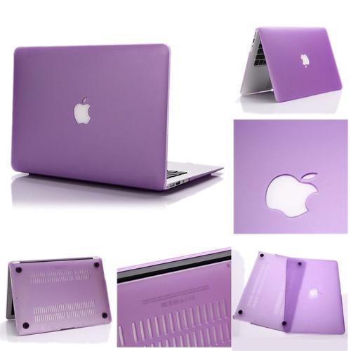carcasa troquelada macbook pro 13+protector de teclado.
