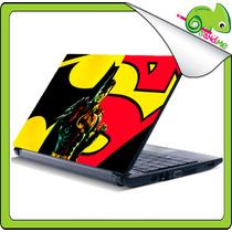Skin Autoadhesivo Comics Vinil Para Laptop Simpson Pc Mac