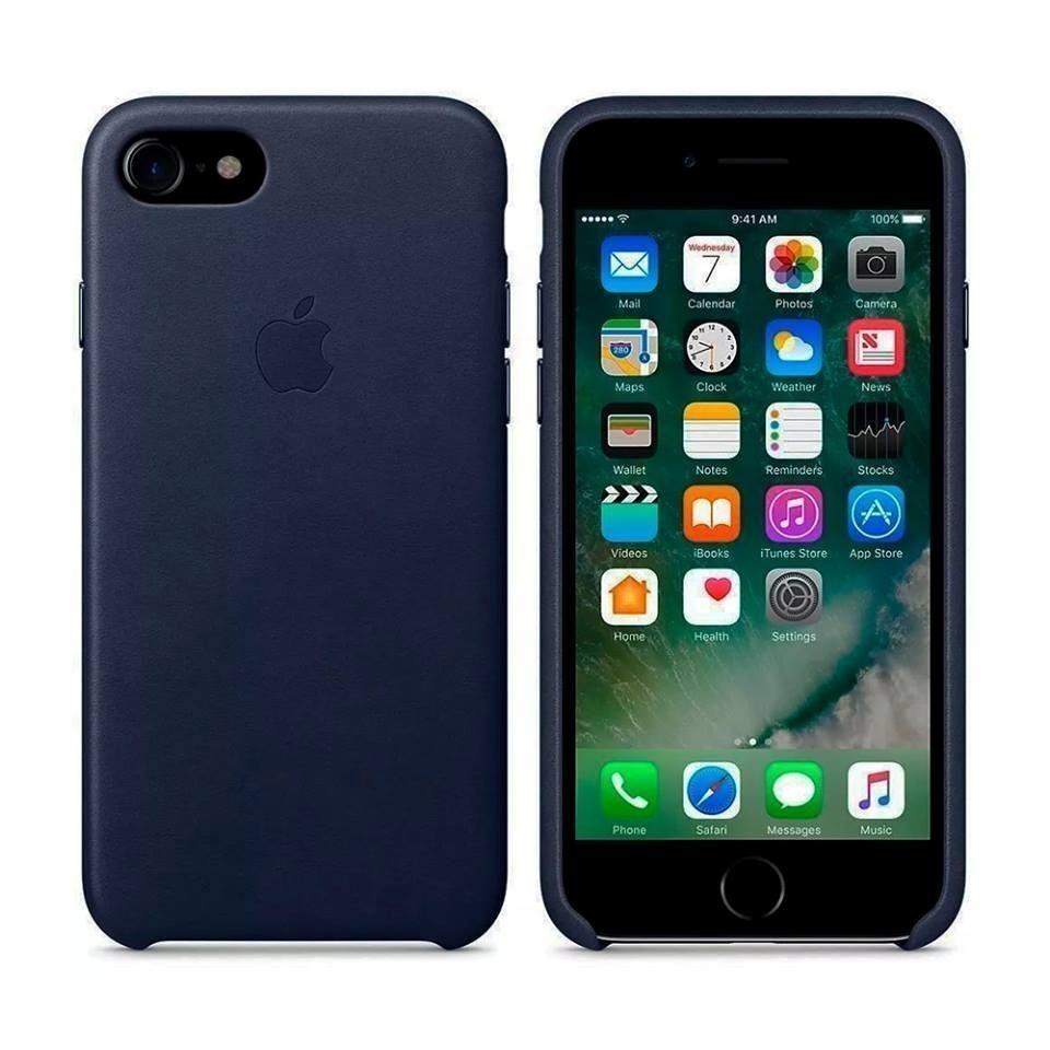 a2103d9312b carcasas apple cuero iphone 8 7 plus + lámina de vidrio. Cargando zoom.