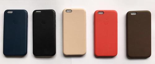 ca792ae6f65 Carcasas Cuero Y Silicona Con Logo Para iPhone 6 6s Plus- 7 ...