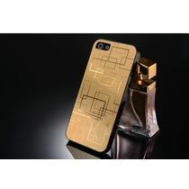 Carcasa Iphone 5 De Lujo Elegante Aluminio Pvc, Nuevas