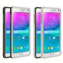 Carcasa Galaxy Note 4 Aegis Love Mei Aluminio Policarbonato.