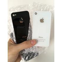 Tapa Trasera Iphone 4s Blancas Y Negras + Instalación