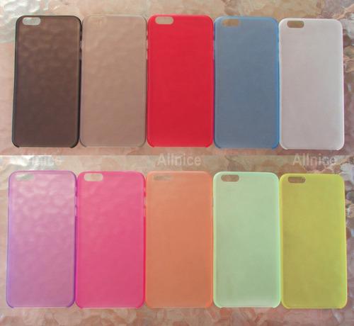 carcasas iphone 6 plus varios colores
