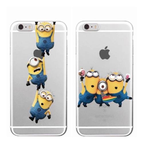 carcasas minions iphone 5/5s/se/6/6s/7/8