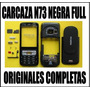 Carcasa Nokia N73 Negras Full Completas Carcaza N 73