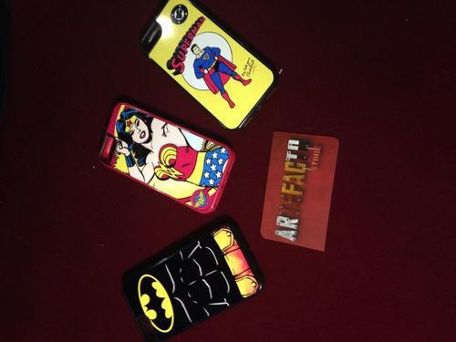 carcasas para iphone 6 personalizadas batman superman etc..