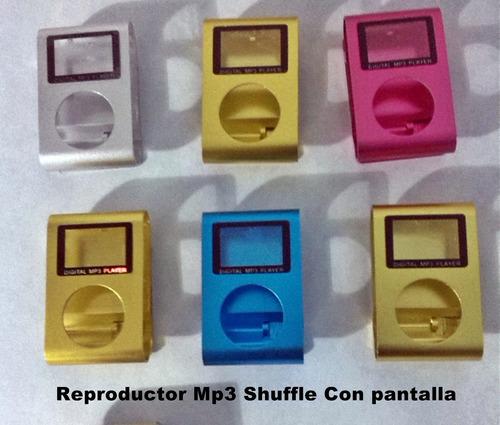 carcasas para reproductor mp3 + mica de la pantalla
